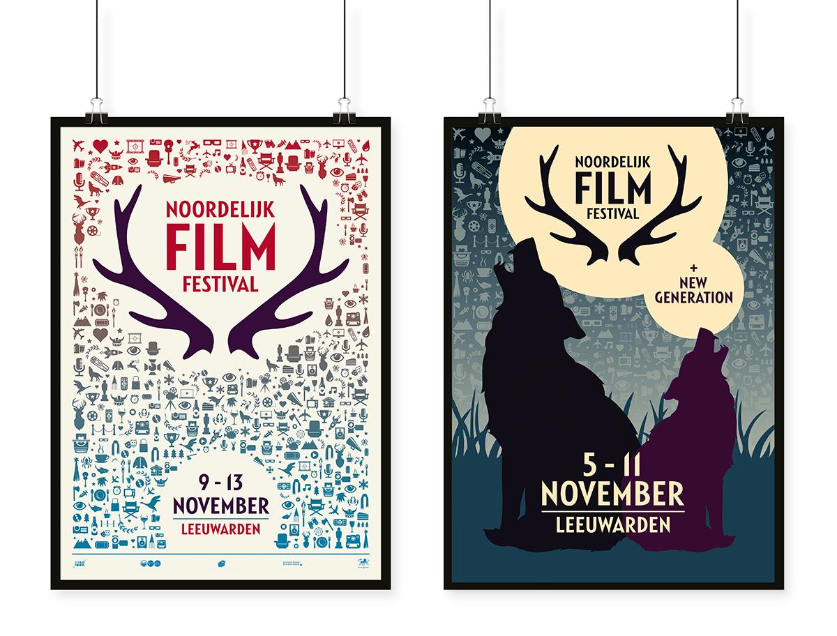 Posters 2016 en 2018 NFF